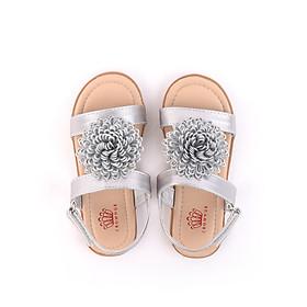 Sandals bé gái Crown Space Crown UK Princess sandals CRUK7017 - Màu Bạc