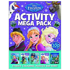 Disney - Frozen: Activity Mega Pack (Wallet of Wonder Disney)