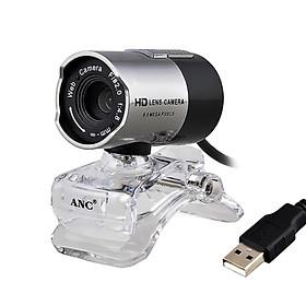 Webcam Aoni Có Thể Quay Rõ Trong Đêm Với Cổng USB + Micro Cho Laptop / Máy Tính Bàn