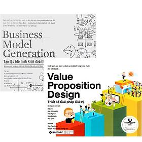 Combo Sách Kỹ Năng Kinh Doanh: Thiết Kế Giải Pháp Giá Trị + Business Model Generation - Tạo Lập Mô Hình Kinh Doanh
