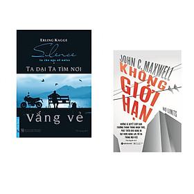 Combo 2 cuốn sách:  Ta Dại Ta Tìm Nơi Vắng Vẻ + Không giới hạn