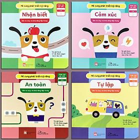 Bộ 4 quyển Sách Mê Cung Phát Triển Kỹ Năng  - Rèn Tư Duy Và Khả Năng Tập Trung Cho Bé (2-6 tuổi)