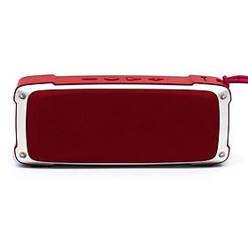 Loa bluetooth mini không dây nghe USB thẻ nhớ PKCB176 Đỏ - Hàng Chính Hãng