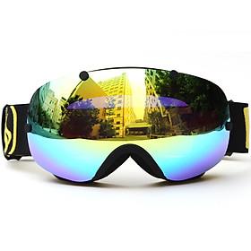 Mắt Kính Thể Thao Mùa Đông Trượt Tuyết Chống Tia UV (UV400)