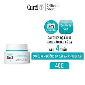 Kem Dưỡng Da Cấp Ẩm Chuyên Sâu Curel Intensive Moisture Care Intensive Moisture Cream (40g)