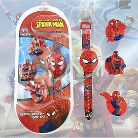 Set đồng hồ điện tử Spiderman 4 mặt
