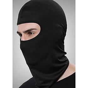 Khăn trùm đầu Ninja Fullface đi phượt (Màu đen)