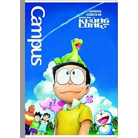 Bộ 2 Vở Doraemon - Nobita's New Dinosaur 48 Trang - 4 Ô Ly - NB-BDND48