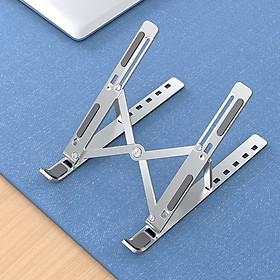 Giá đỡ laptop nhôm có thể gấp gọn dành cho Macbook Ipad Surface và máy tính xách tay