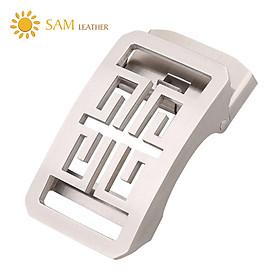 Mặt Khóa Thắt Lưng - Đầu Khóa Thắt Lưng SAM Leather SMDN005WB
