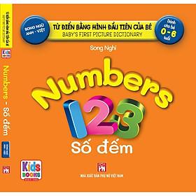 Sách - Baby'S First Picture Dictionary - Từ Điển Bằng Hình Đầu Tiên Của Bé - Số Đếm - Number (Bìa Cứng)