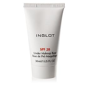 Kem lót chống nắng Inglot Under Makeup Base SPF20 (30 ml)