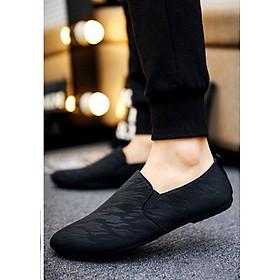 Giày Lười Nam Cao Cấp Phong Cách Hàn Quốc - Màu Đen - SV20