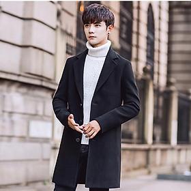 Áo vest Blazer dạ nam dáng dài 2 lớp lịch lãm, thời trang thu đông 2020
