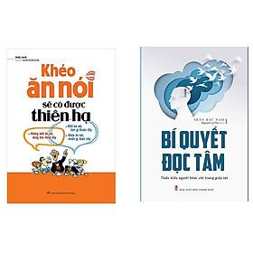 Combo sách khéo ăn nói có được thiên hạ và bí quyết đọc tâm tặng sổ tay Vadata