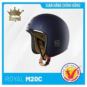 Nón bảo hiểm 3/4 Royal M20C