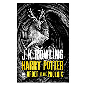 Harry Potter Part 5: Harry Potter And The Order Of The Phoenix (Hardback) (Harry Potter và Hội Phượng Hoàng) (English Book)