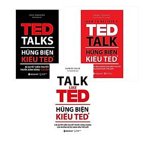 Combo Hùng Biện Kiểu Ted Talk (3 quyển)