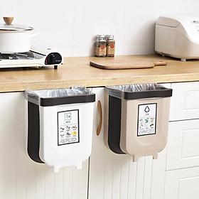 Thùng rác gấp sáng tạo treo trong Xe hơi Nhà vệ sinh, cửa bếp