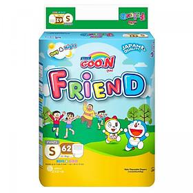 Tã Quần Goo.n Friend Gói Cực Đại S62 (62 Miếng)-0