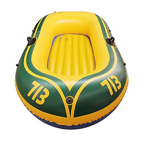 Thuyền phao Kayak 713 cho 2 người, thuyền bơm hơi đi câu cá POKI