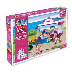 Đồ chơi lắp ráp quán cà phê TINITOY (226 pcs) YY590667