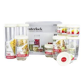 Bộ 10 Hộp Lock&Lock Interlock INL301WS10
