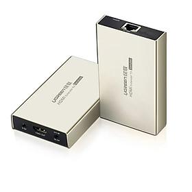 Bộ nhận tín hiệu HDMI qua cáp mạng Lan 120m Ugreen GK40280 - ( phải mua thêm bộ phát mã 40283 mới dùng được ) - Hàng chính hãng