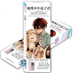 Hộp ảnh Bookmark anime Jibaku Shounen Hanako-kun Ác quỷ trong nhà xí 36 tấm