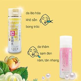 Tinh Chất Essence Đậm Đặc Nhau Thai Và Collagen Dưỡng Da Trắng Mịn Mờ Thâm Sạm Ngăn Ngừa Lão Hóa Từ Nhật Bản White Label Premium Placenta Rich Gold Essence-2