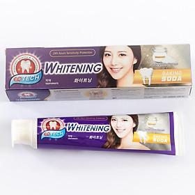 Kem đánh răng  trắng răng baking soda EQ Tech Whitening toothpaste