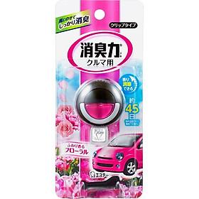 Bộ 3 khử mùi ô tô giúp thư giãn giảm stress hương hoa (dạng gắn) - Hàng Nội Địa Nhật