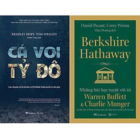 Combo Sách Cá Voi Tỷ Đô - Câu Chuyện Về Kẻ Đã Lừa Cả Phố Wall, Hollywood Và Thế Giới + Berkshire Hathaway: Những Bài Học Tuyệt Vời Từ Warren Buffett Và Charlie Munger