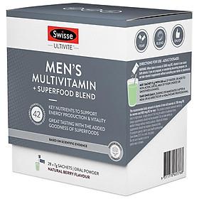 Swisse Ultivite Men's Multivitamin + Superfood Blend 28 pack