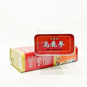 Hộp Hồng sâm khô nguyên củ Daedong Korea 6 năm tuổi (21 đến 40 củ sâm) - 600 Grams
