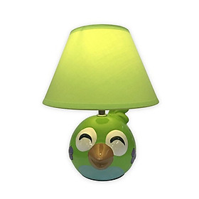Đèn Gốm Sứ Trang Trí Điện Quang ĐQ DL14 WW (Thân Hình Chim Xanh, Có Bóng LED 5W, Warmwhite)