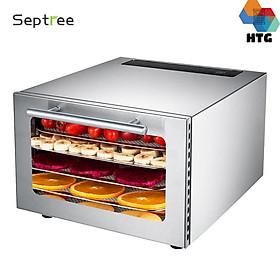 Máy sấy thực phẩm gia đình  5 khay Septree DBC-05A hẹn giờ sấy khô tự ngắt, hàng chính hãng