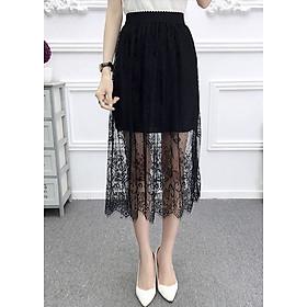 Chân váy nữ cạp chun 2 lớp cv19 (free size)