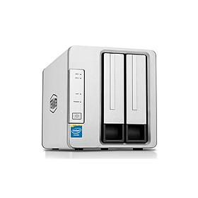 Bộ lưu trữ mạng NAS TerraMaster F2-221, Intel Dual-core 2.0GHz, 2GB RAM, LAN 2x 1GbE, 2 khay ổ cứng RAID 0,1,JBOD,Single - Hàng chính hãng