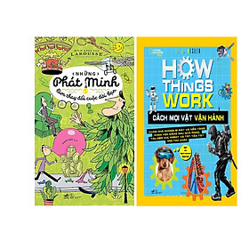 Combo 2 Cuốn Bách Khoa Thư Những Phát Minh Làm Thay Đổi Cuộc Đời Bạn (Tb) + How Things Work - Cách Mọi Vật Vận Hành