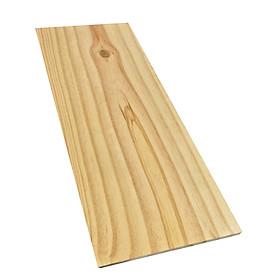 Tấm gỗ thông mới đẹp rộng 20cm, dài 50cm, dày 2cm dùng làm kệ ốp tường, làm mặt bàn mini, dùng được nhiều mục đích khác nhau...