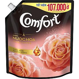 Nước Xả Vải Comfort Hương Nước Hoa Thiên Nhiên Rose (2.4L)