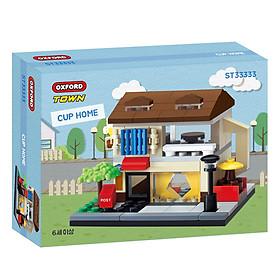 Đồ chơi lắp ráp - Chính hãng Hàn Quốc - Cửa Hàng Ly Tách Oxford ST33333 -  gồm 158 mảnh ghép dành cho bé 6 tuổi trở lên
