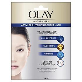 Olay Magnemasks Advanced Hydrating Sheet Mask 1 Pack