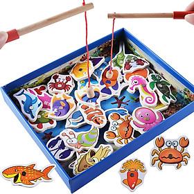 Đồ chơi câu cá gỗ 32 chi tiết