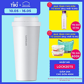 Bình Giữ Nhiệt Lock&Lock Energetic One-Touch Tumbler LHC3249 - 550ML