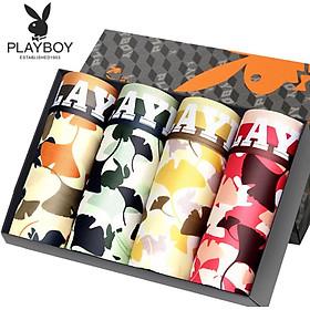 Set 4 Quần Boxer Nam Playboy 5260B