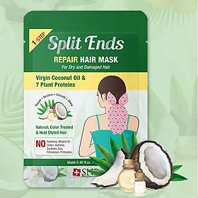 Hộp Mặt Nạ Tóc Phục Hồi Hư Tổn Chẻ Ngọn SNP Slit Ends Repair Hair Mask