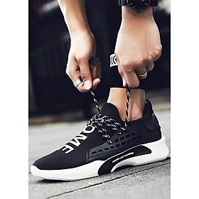 Giày Sneaker Nam Siêu Nhẹ Gnnew07 - Đen