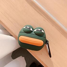 Airpods Pro Case Ốp Bảo Vệ Cho Airpods Pro Hình Ếch Sad Frog